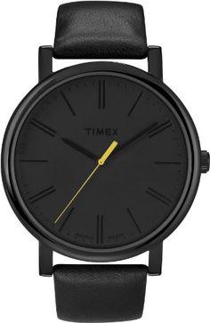 Timex Originals Montre Quartz Avec Cadran Analogique Display et Bracelet Cuir T2N793PF