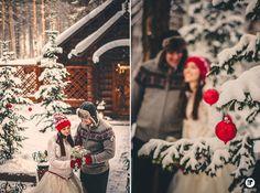 Зимняя свадьба Светы и Димы