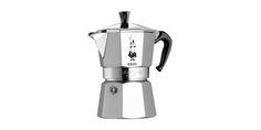 CAFFETTIERA Moka Express - BIALETTI INDUSTRIE s.p.a.  Caffettiera classica moka in alluminio e acciaio.  Disponibile in diversi formati: 1 Tz. e/o 2 Tz. e/o 3 Tz.