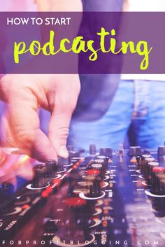 You've heard about why you should consider adding a podcast. Now read how to start podcasting.