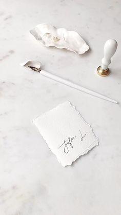 Diy Crafts Videos, Diy And Crafts, Paper Crafts, Creative Bookmarks, Hand Lettering Art, Diy Wax, Wax Seal Stamp, Monogram Wedding, Stationery Design
