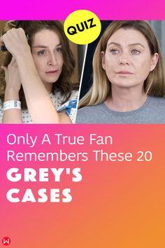 Do you think you remember these twenty crazy medical cases on Grey's Anatomy? Go ahead and take this quiz to find out! #greys #shondaland #greysLove #greysrandomQuiz #greysFan #meredithgrey #shonda #GreysAnatomy #greyscases #greyspatients #greysquiz #greysnostalgia #greysAnatomyTrivia