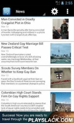 EDGE Gay/Lesbian News  Android App - playslack.com ,  The world's largest network of gay and lesbian news and entertainment portals is now available on your Android device! Headlines EDGE publishes gay news, entertainment, business, technology, style, health, fitness, travel and nightlife information to readers around the world. For the gay, lesbian, bisexual and transgender community, staying connected on the go has never been so easy. Giveaway Center Win fabulous prizes including…