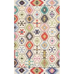 Found it at AllModern - Toubqal Hand-Tufted Beige Area Rug
