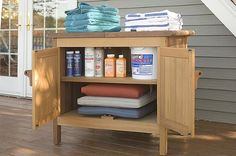 Amazon.com : Outdoor Storage Buffet Server Cabinet : Outdoor Furniture : Office Products Server Cabinet, Buffet Server, Patio Storage, Outdoor Storage, Outdoor Buffet Tables, Phoenix Homes, Italian Garden, Back Patio, Basement Ideas