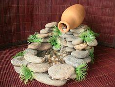 cascade d'eau de taille mini pour la maison