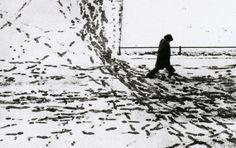 Herbert List  - Last Snow Munich, 1953