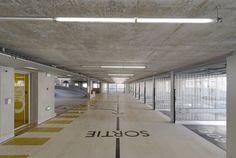 GaP Grudzinski & Poisay - Edificio de Estacionamientos, Grenoble