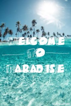 Beautiful Welcome To Paradise ~ Green Day