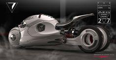 Cern 05 Bike Concept by Luigi Memola - Design Render