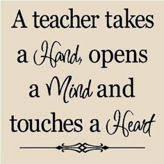 Thanks, teachers, for all you do!!  #Teachers #Quote: