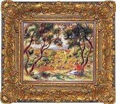 Pierre-Auguste Renoir Vines at Cagnes Museum Quality Printed Art & Frame $8.99