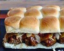 Maria's Kitchen !!!: Amazing BBQ Meatball Sliders !!!!