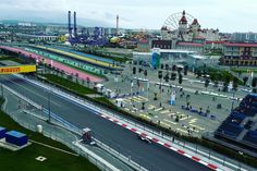 2016 F1 Russian Grand Prix Sochi