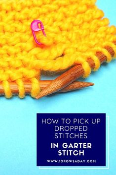 Easy Knitting Projects, Knitting For Beginners, Knitting Tutorials, Learn How To Knit, Last Stitch, Purl Stitch, Garter Stitch, Stockinette, Photo Tutorial