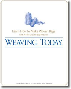 Learn how to make woven bags free with these projects!