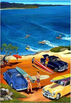 Garry Birdsall - Ground Swell 1960s surfing