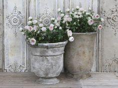 Käy tutustumassa Ruukkuverkkokaupan laajaan valikoimaan Rustic French Country, Inspired Homes, Flower Pots, Centerpieces, Antiques, Garden, Interior, Inspiration, Home Decor