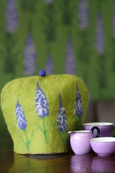felted tea cosy by IndogoJo