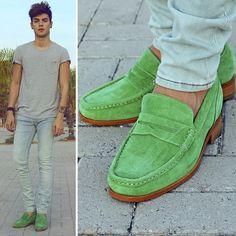 Mocassino Varadero, 6.5 centimetri in più per il #fashion blogger Vini Uehara.  http://www.guidomaggi.it/mocassini/varadero-detail#.U_8Qc8V_uSo