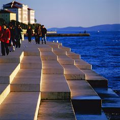 Sea Organ Zadar (Croatia) Photographer: Damir Fabijanić