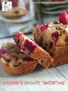 "RASPBERRY & CHOCOLATE ""MUFFIN"" LOAF"
