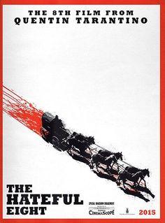 Divulgado primeiro pôster do novo faroeste de Quentin Tarantino