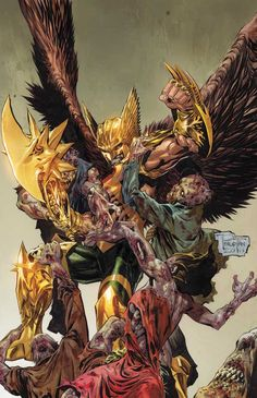 Hawkman by Philip Tan ❎