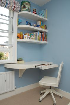 Study Room Design, Study Room Decor, Small Room Design, Home Room Design, Kids Room Design, Home Office Design, Home Interior Design, Living Room Decor, House Design