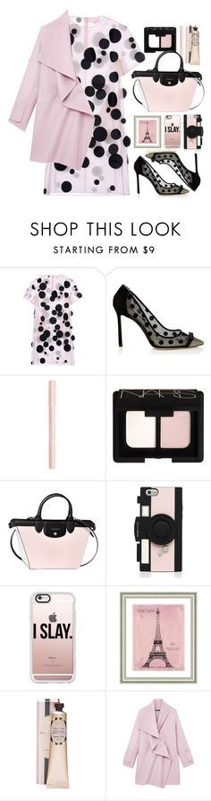 """28.10.16"" by malenafashion27 ❤ liked on Polyvore featuring Paskal, Bourjois, NARS Cosmetics, Longchamp, Kate Spade, Casetify, Vintage Print Gallery and Vince"