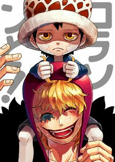 Smile on the inside/Corazon,Law/One piece Source by luffy One Piece Manga, Law One Piece, One Piece Fanart, One Piece Luffy, Trafalgar D Water Law, The Pirate King, Familia Anime, One Piece Images, Animation
