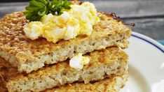 röpörieska Krispie Treats, Rice Krispies, Cornbread, Bread Recipes, Banana Bread, Sandwiches, Yummy Food, Baking, Ethnic Recipes