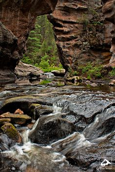 A River Runs Through It - Jemez River, New Mexico by isaac.borrego, via Flickr