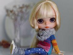 Blythe doll Custom Blythe muñeca colección muñeca hecha a mano muñeca OOAK muñeca arte muñeca OOAK Blythe muñeca decoración maestra Diana e.