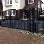 Driveway Gates - Leighton Ironcraft