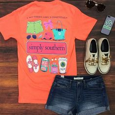 A Simply Southern tee is a preppy essential this summer!