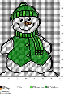 CUTE SNOWMAN by GrannyS Designs
