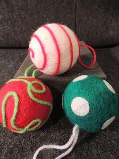 22 Applegate Lane: DIY Felted Christmas Ornaments