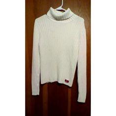 White ladies nautica sweater Ladies nautica sweater   Preloved. Good condition smoke free home Nautica Sweaters Cowl & Turtlenecks