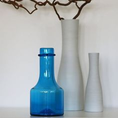 Vis innlegget for mer. Feng Shui Interior Design, Oslo, Scandinavian Style, Bottle, Gallery, Instagram, Blue, Home Decor, Homemade Home Decor