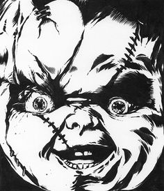 chucky drawings in pencil - Google Search | Tattoo ...