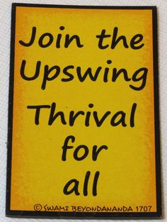Join the Upswing Thrival for All 1707 Magnetic Graffiti fridge refrigerat magnet #MagneticGraffiti