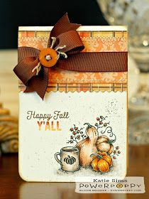 Hi there and welcome back for Day 3 of Power Poppy's  August Stamp Release! Today's stamp set, Feeling Fall , is the final set in Mar...