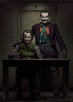 The Joker (Burton's and Nolan's)