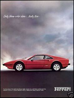 Red Ferrari 308 GTB Car Photo Vintage (1981) by Greg Foster Photography, via Flickr