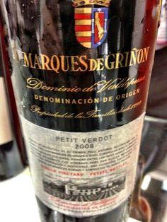 El Alma del Vino.: Marqués de Griñón Petit Verdot 2008.