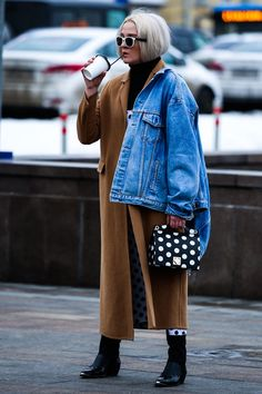 Russia Street Style—Russia Fashion Week
