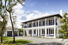 Neoclassical Plantation-Style Residence - Miami, Florida