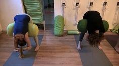1000 images about iyengar yoga bolster on pinterest