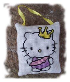 Point de croix : Hello Kitty Miss